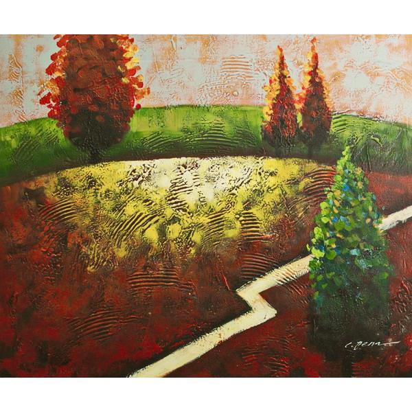 """Картина """"Абстрактный пейзаж 10"""", 50х60см"""