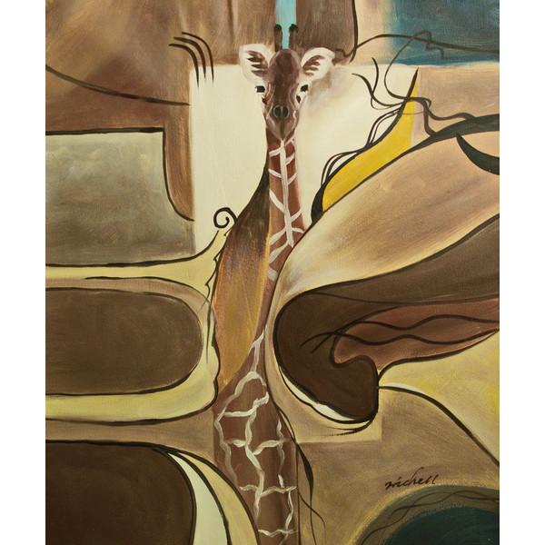 """Картина  """"Жираф"""", 50х60см"""
