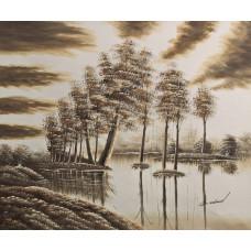 """Картина  """"Лес паводок"""", 50х60см"""