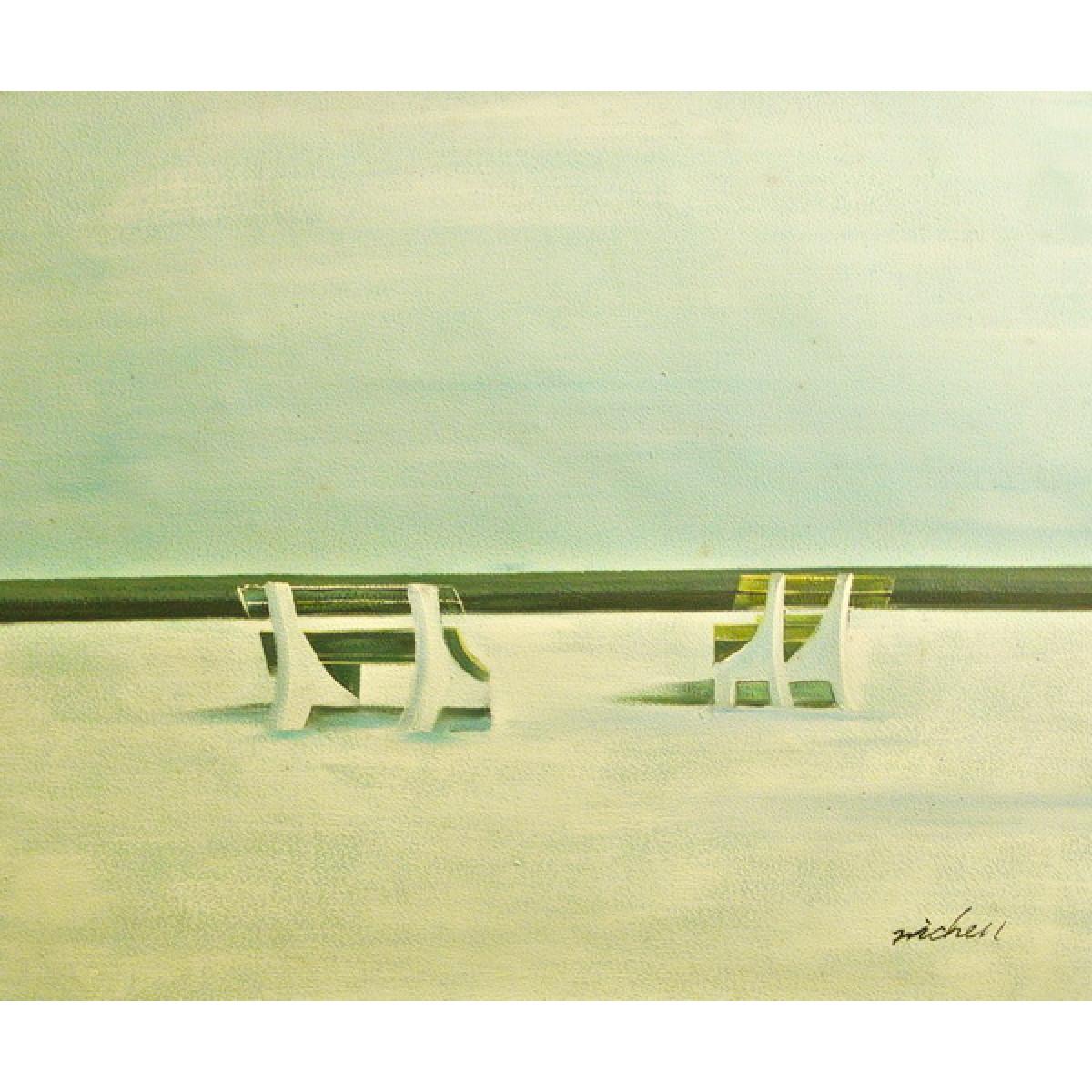 "Картина ""Отдых"", холст, масло, 50х60см"