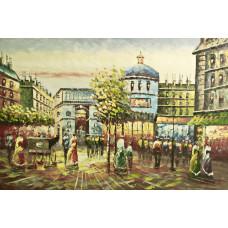 "Картина ""Париж 15"", 60х90см"