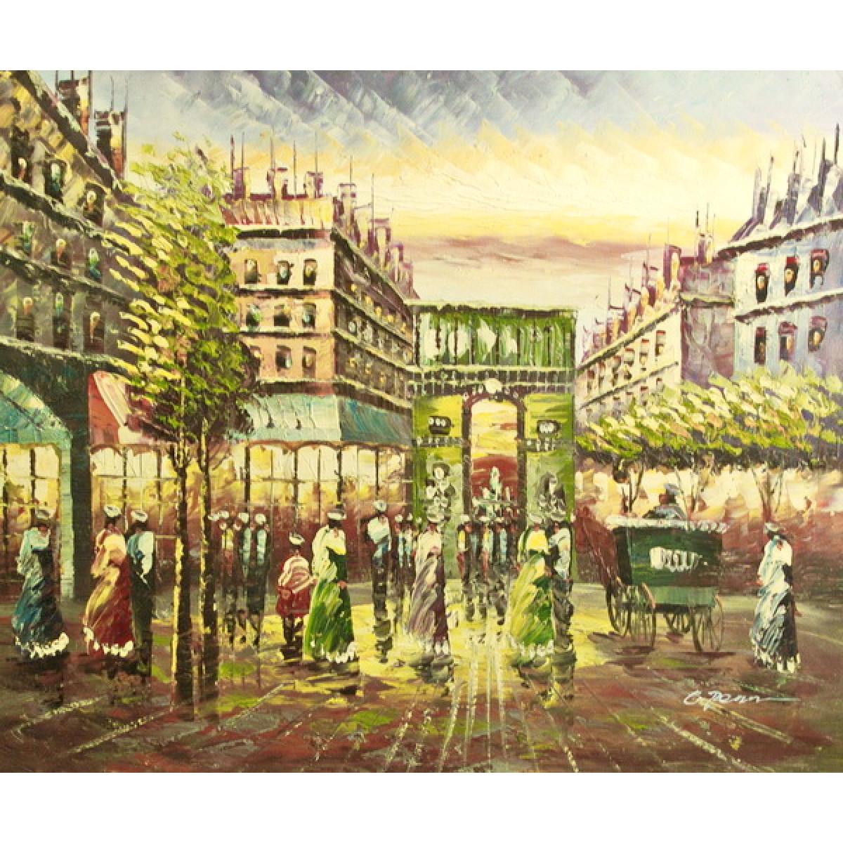 """Картина """"Париж 6"""", холст, масло, 50х60см"""
