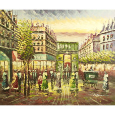 "Картина  ""Париж 6"", 50х60см"
