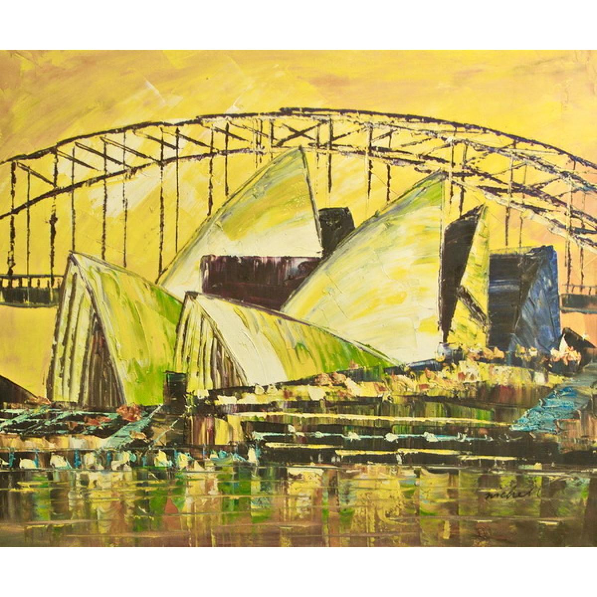 """Картина """"Сидней"""", 50х60см"""