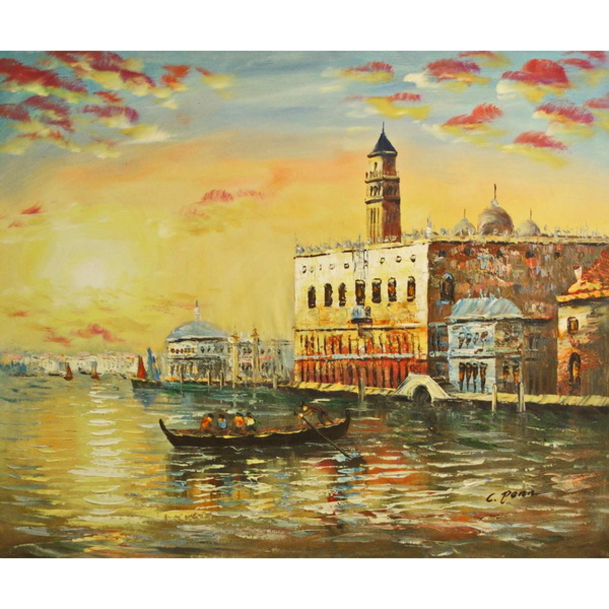 """Картина """"Венеция 20"""", холст, масло, 50х60см"""