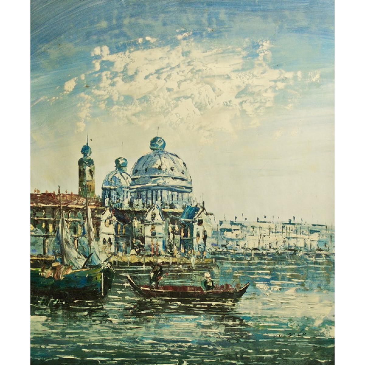 """Картина """"Венеция 25"""", холст, масло, 50х60см"""