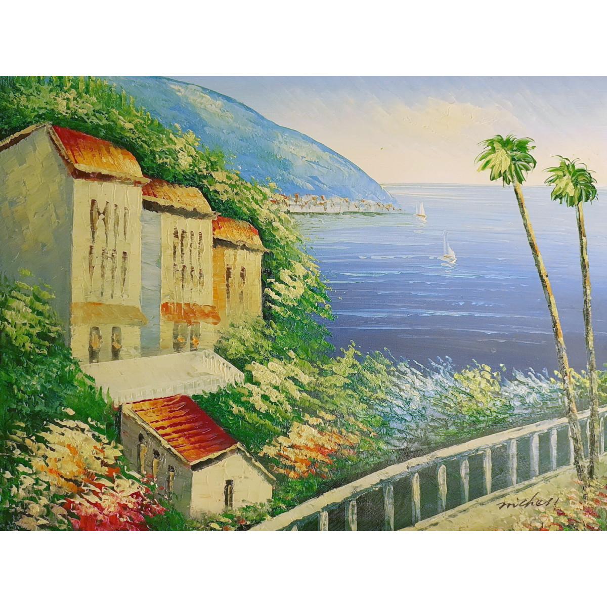 """Картина """"Средиземноморье 2"""", 50х60см"""