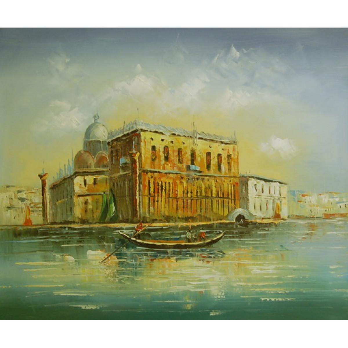"""Картина """"Венеция 22"""", холст, масло, 50х60см"""