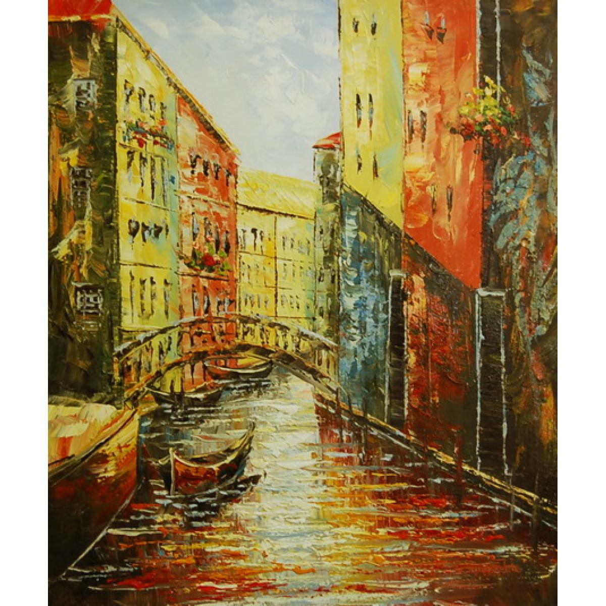 """Картина """"Венеция 8"""", холст, масло. 50х60см"""