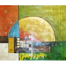 "Картина ""Абстракция 41"", холст, масло, 50х60см"