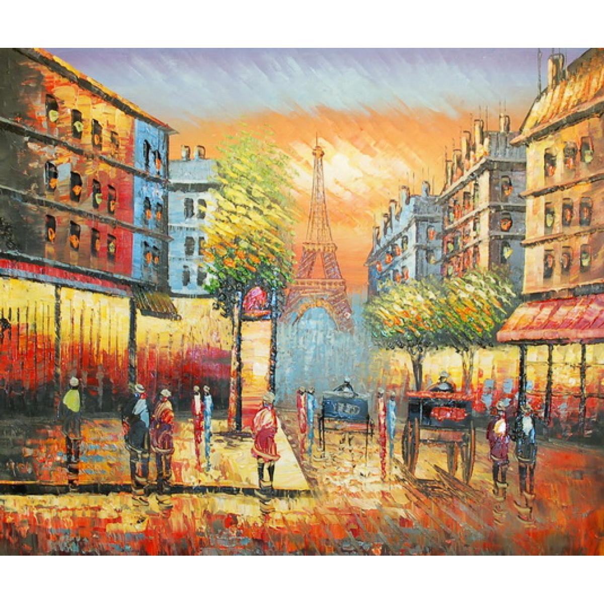 """Картина """"Париж 10"""", холст, масло. 50х60см"""