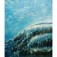 """Картина """"Волна"""", холст, масло, 50х60см"""