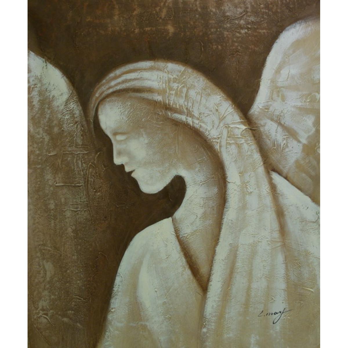 """Картина """"Ангел"""", холст, масло, 50x60см"""