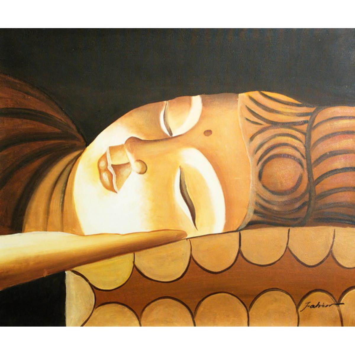 """Картина """"Будда"""" холст, масло, 50х60см"""