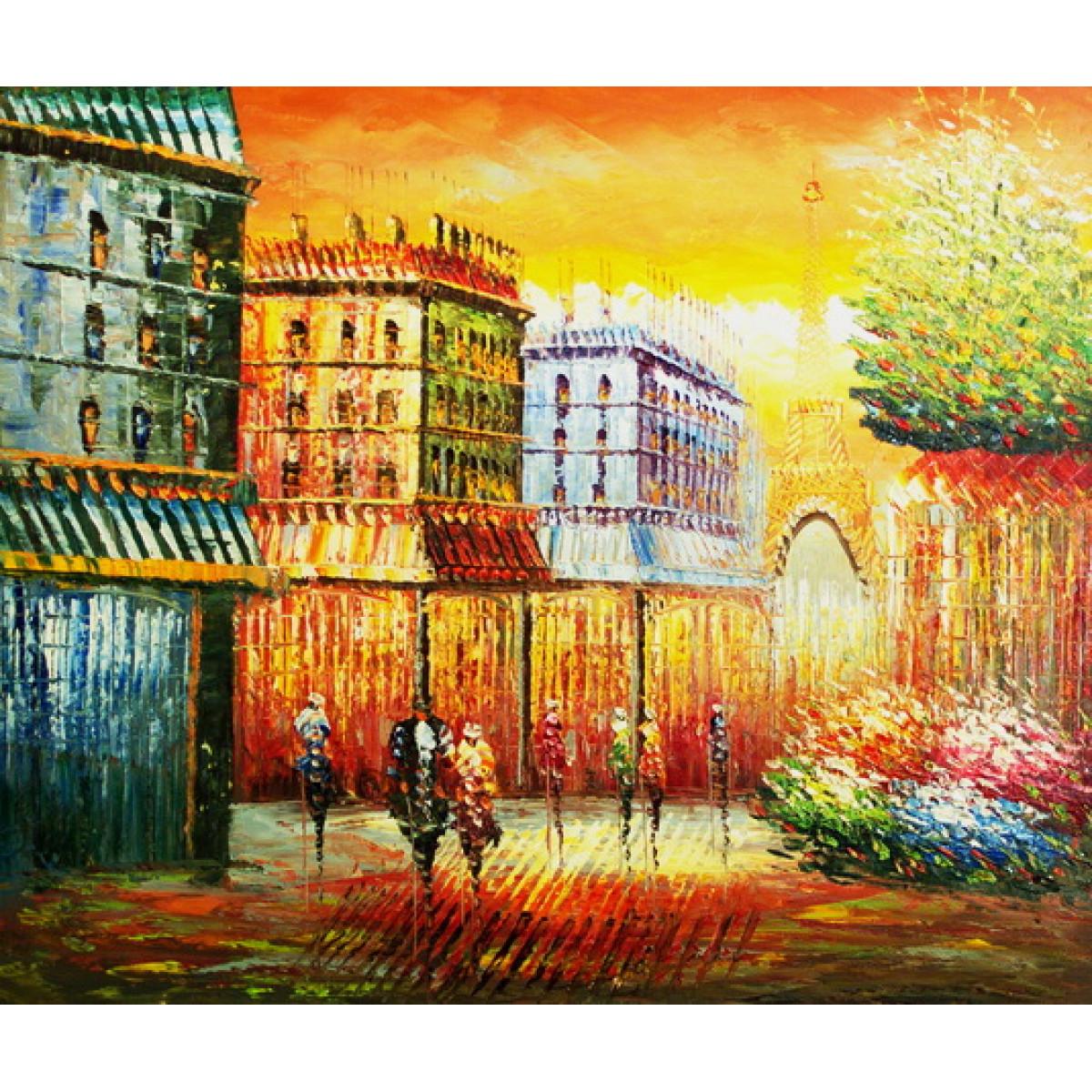 """Картина """"Париж 14"""", холст, масло. 50х60см"""