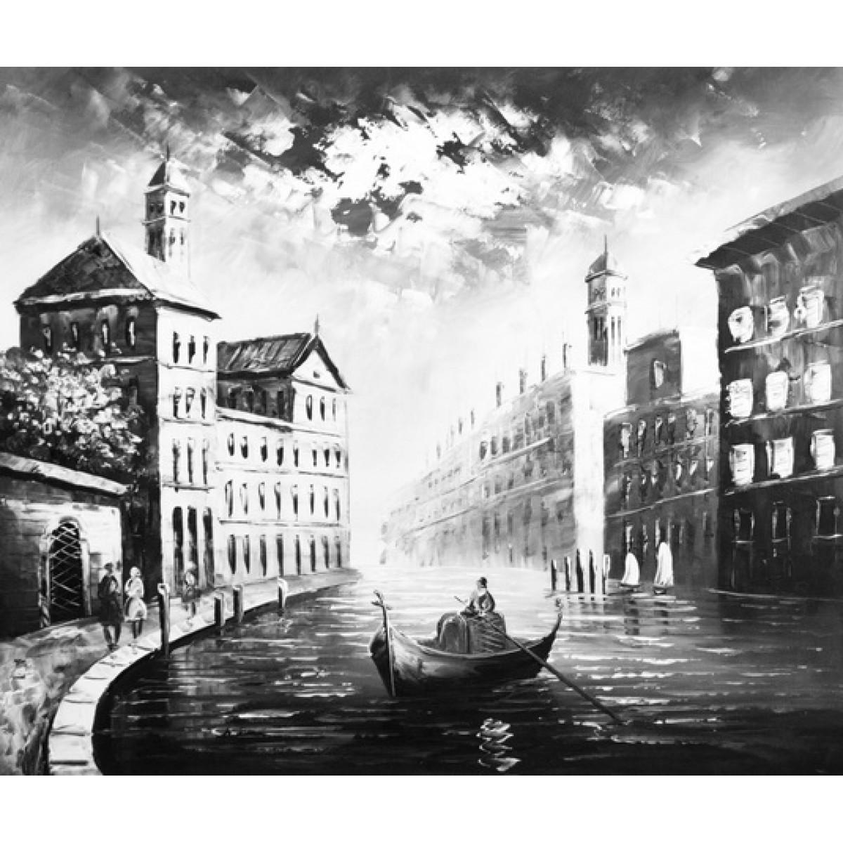 """Картина """"Ночная Венеция"""", холст, масло, 50х60см"""
