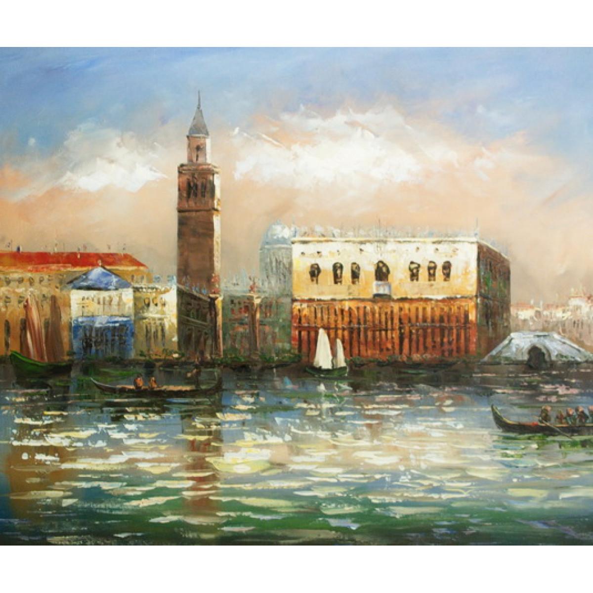 """Картина """"Венеция 10"""" холст, масло, 50х60см"""