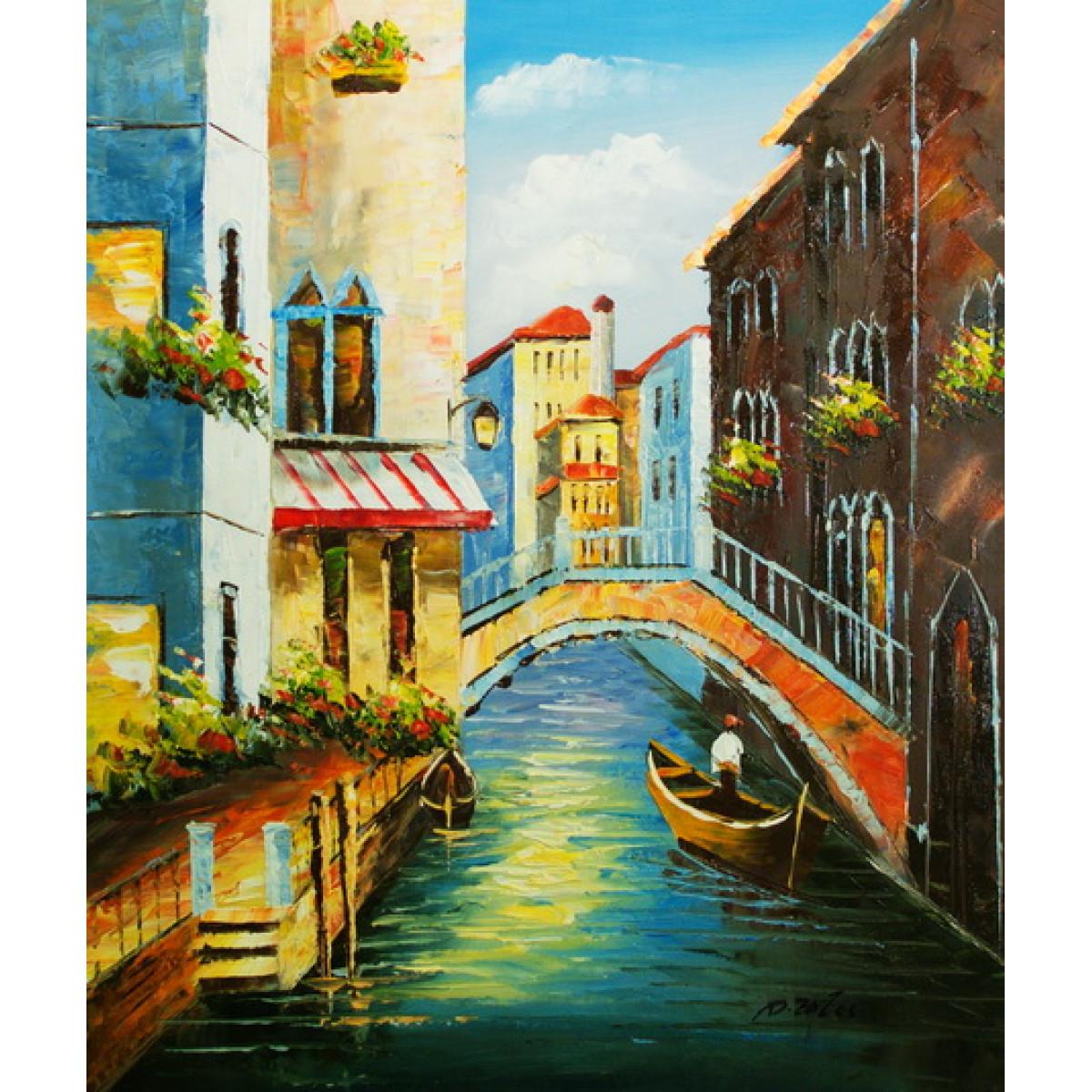 """Картина """"Венеция 5"""" , холст, масло, 50x60см"""