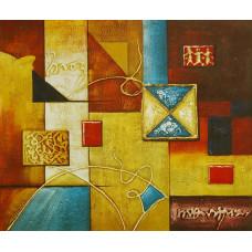 "Картина ""Абстракция 4"", холст, масло, 50x60см"