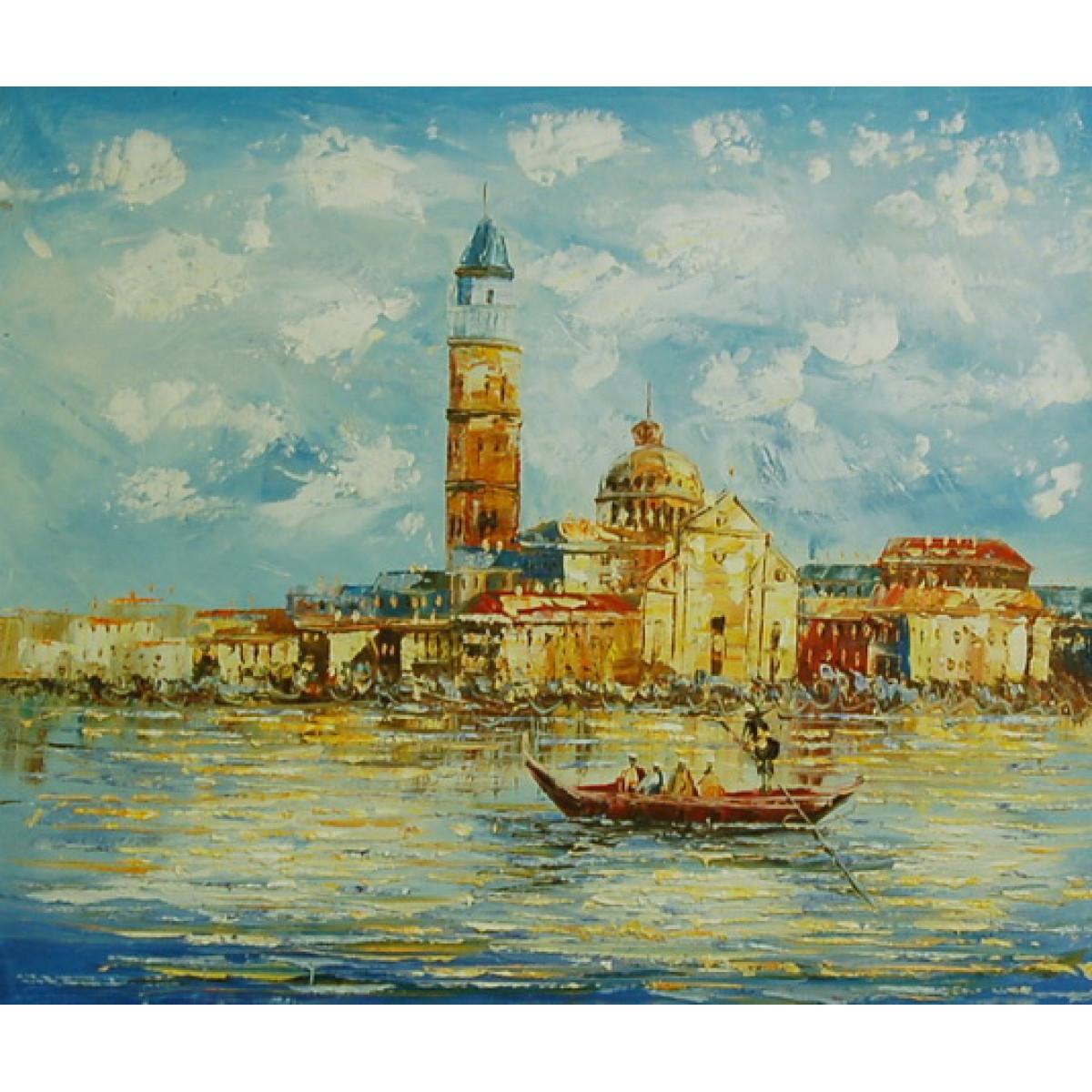 """Картина """"Венеция 12"""" , холст, масло, 50х60см"""