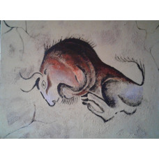 "Картина ""Буйвол"", холст, акрил, 120х80см"