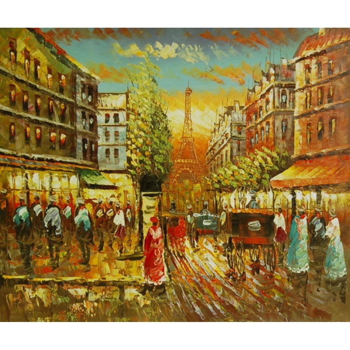 """Картина """"Париж 25"""", холст, масло, 50х60см"""
