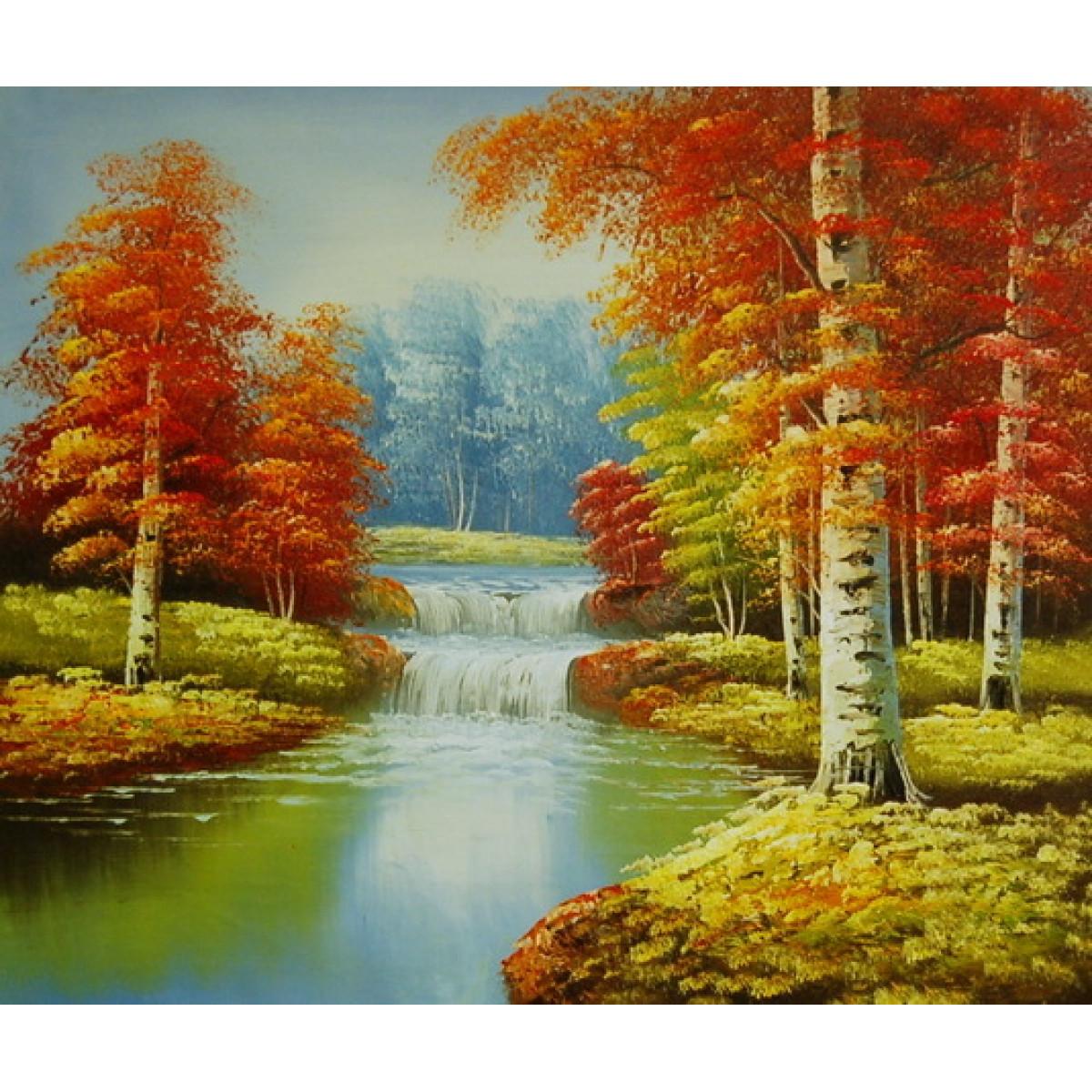 """Картина """"Ранняя осень"""", холст, масло, 50x60см"""