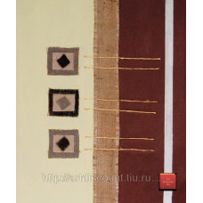 "Картина  ""Абстракция смешанная техника 1"" холст, масло, 50х60см"