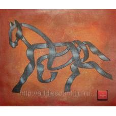 """""""Лошадь"""", холст, масло, 50х60см"""