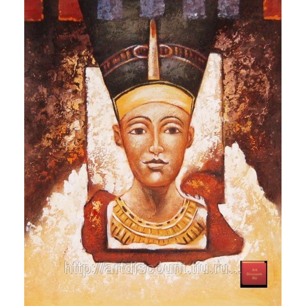 "Картина ""Нифертити"", холст, масло, 50х60см"