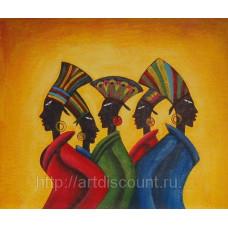 """Картина  """"Африка"""" холст, масло, 50х60см"""