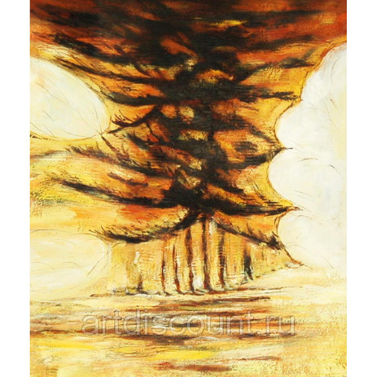 "Картина ""Абстракция 99"" холст, масло, 50х60см"