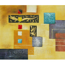 "Картина  ""Абстракция 11"", холст, масло, 50х60см"