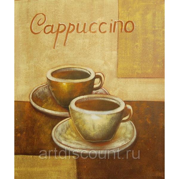 """Картина   """"Кофе"""" холст, масло, 50х60см"""