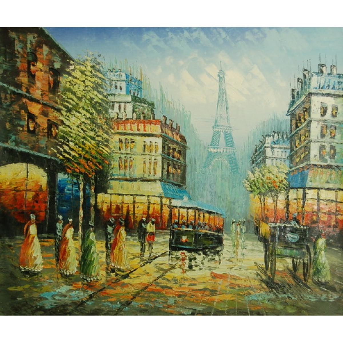 """Картина """"Париж 5"""", холст, масло, 50х60см"""