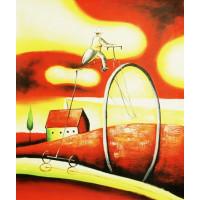 """Картина  """"Велосипед"""", холст, масло, 50х60см"""