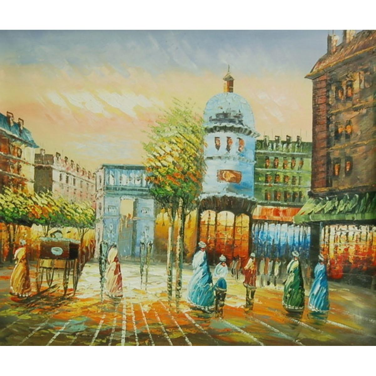 """Картина """"Париж 15"""", холст, масло, 50х60см"""