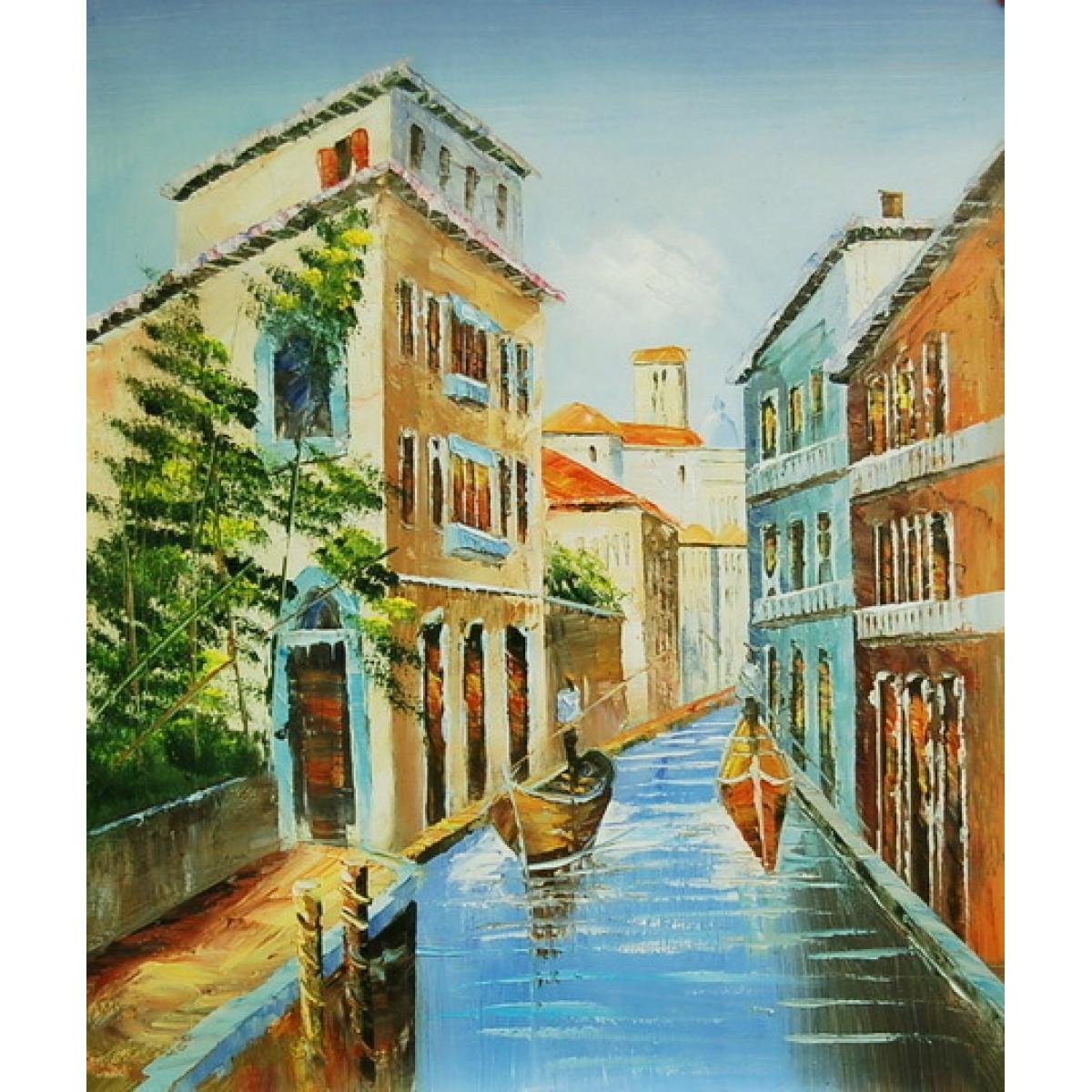 """Картина """"Венеция 21"""" , холст, масло, 50x60см"""