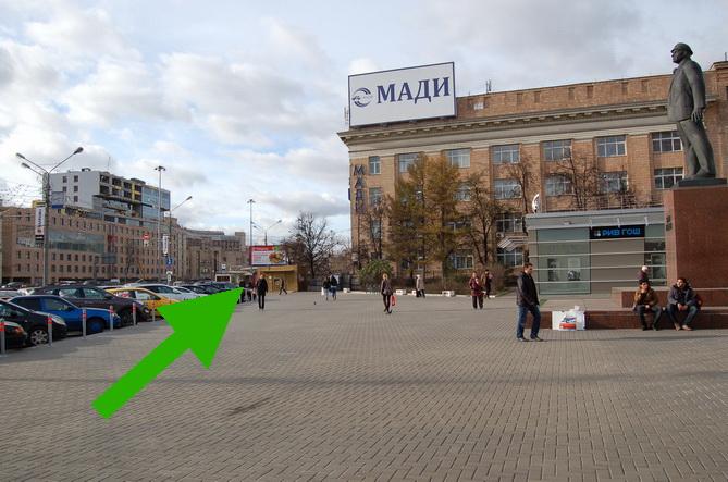 Площадь Эрнста Тельмана Москва