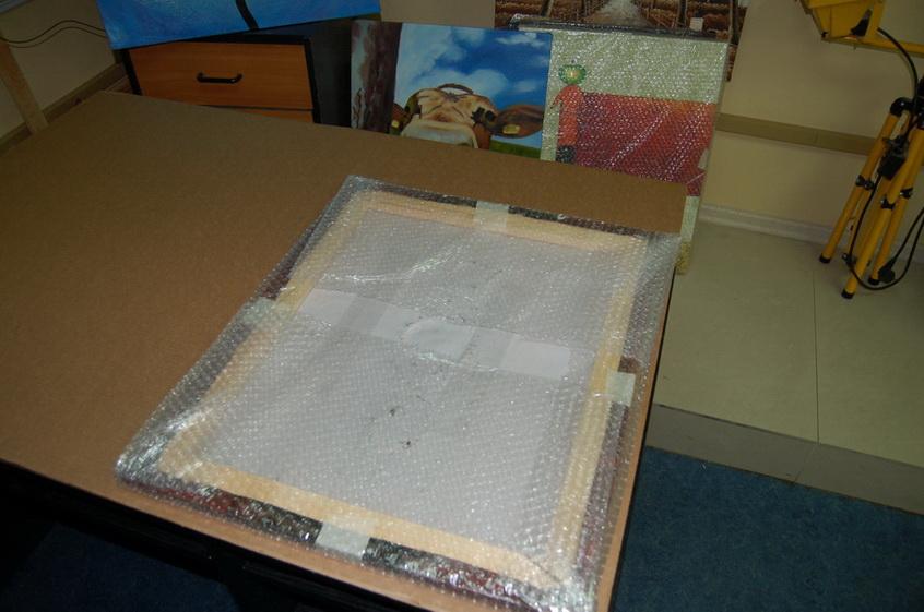 Упаковка картин 5
